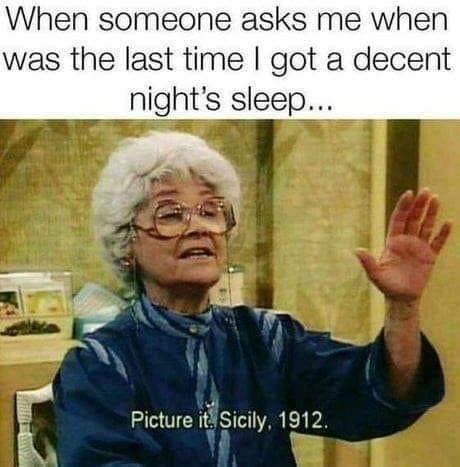 Funny Af Sleep Memes