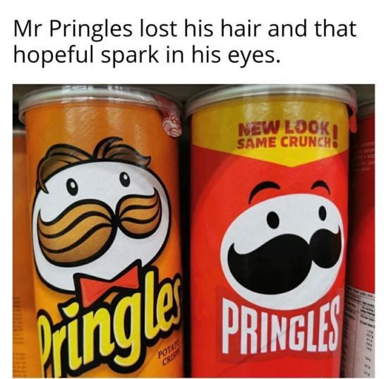Funny Af pringles meme