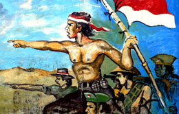 Indonesian army during the war