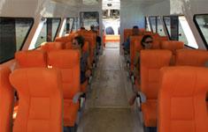 Gili Gili Fast Boat Seats