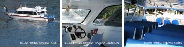 Kuda Hitam Express Boat to Gili Island