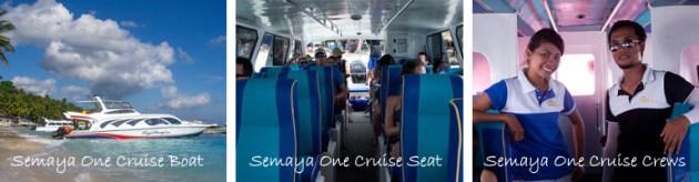 Semaya One Fast Cruise Boat