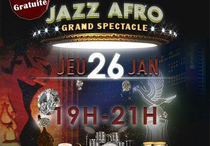 Jazz afro musique Togo à l'institut Goethe ce 26 janvier