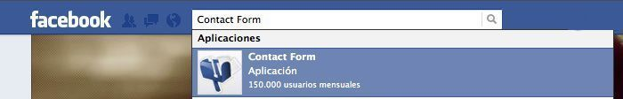 Cómo instalar Contact Forms en Facebook