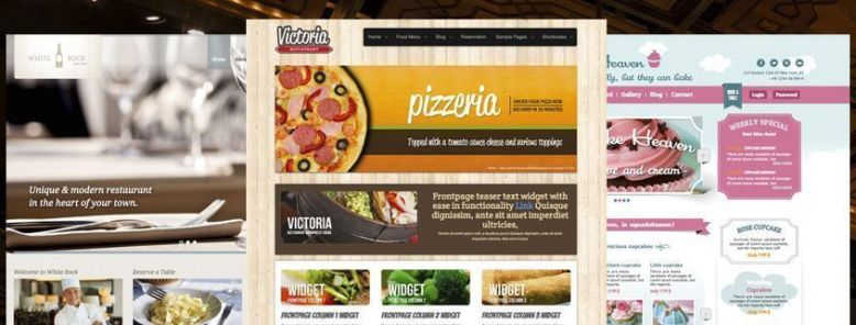 25 Mejores Temas WordPress para Restaurantes 2017