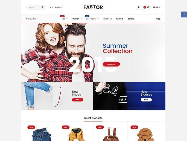 Fastor - Tema OpenCart para tiendas virtuales