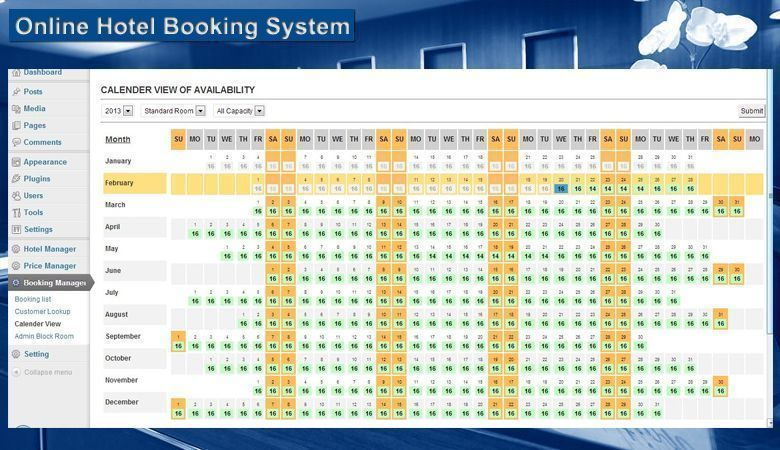 Online Hotel - Sistema de reservas para hotel WordPress