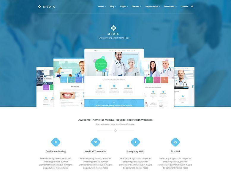 Medic - Tema WordPress para centros de salud y médicos