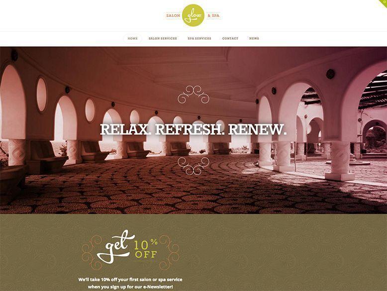 X - Tema WordPress para centros de spa y balnearios