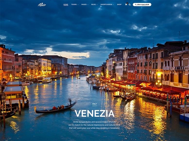 Altair - Tema WordPress para agencias de viajes, tour operadores y empresas de tours