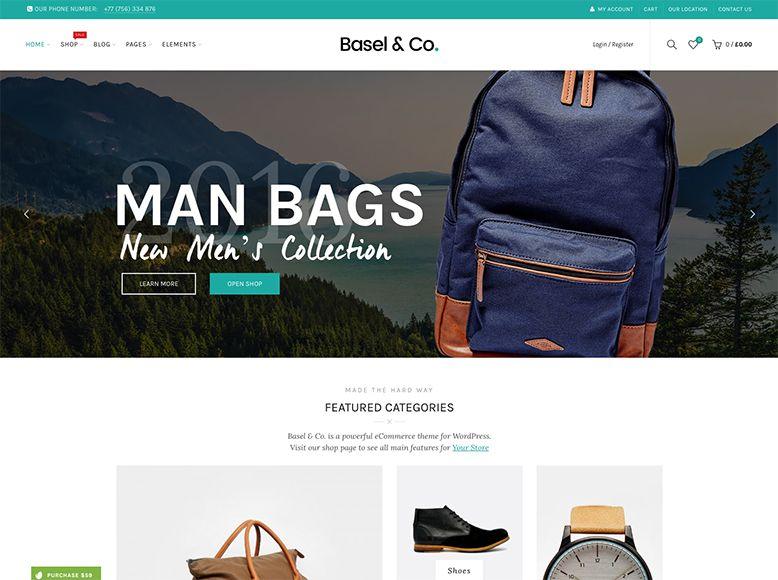 Basel - Tema WordPress para tiendas online WooCommerce