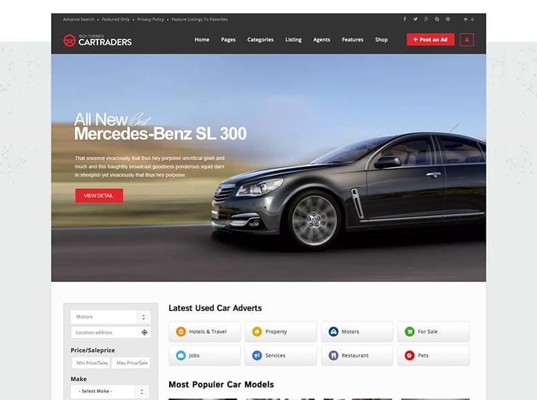 Directory - Plantilla WordPress para directorios de venta de coches