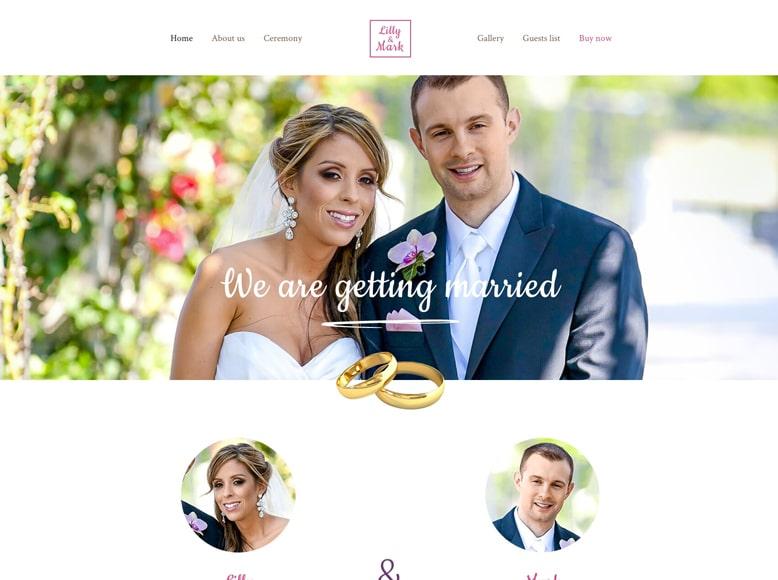 BeTheme - Plantilla WordPress para sitios web de bodas, ceremonias y eventos