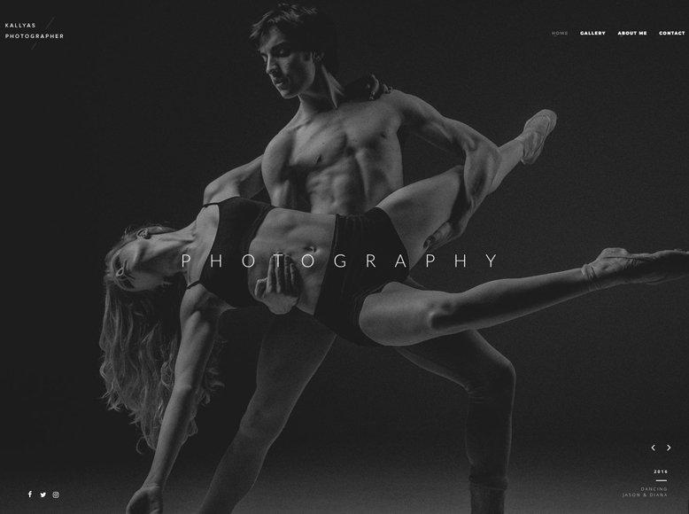 Kallyas - Tema WordPress para agencias fotográficas y fotógrafos