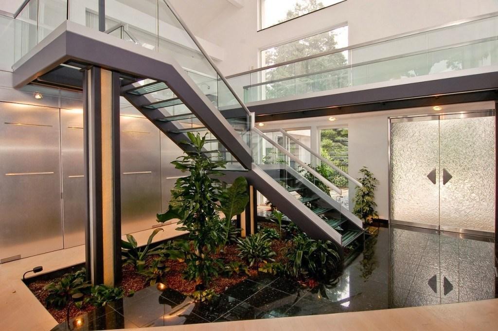 Under Stairs Garden Http Lomets Com | Under Stair Garden Design | Plant | Ideas | House | Stair Case | Pebble Garden
