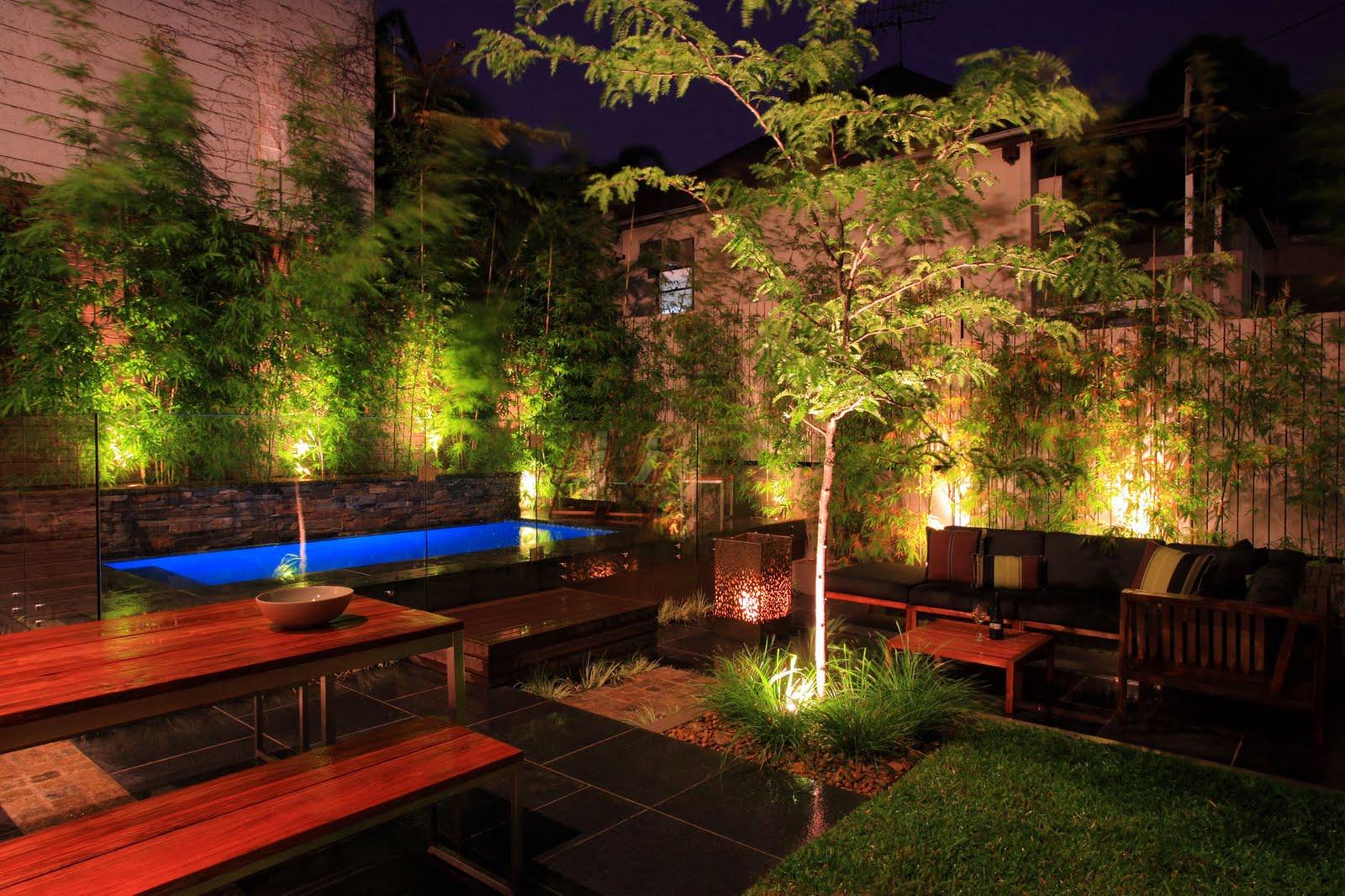 Solar Powered Garden Spotlights