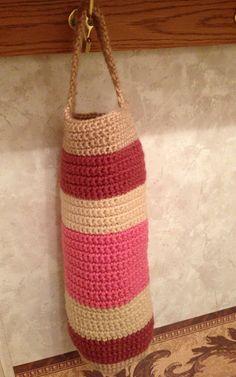 Crochet Plastic Bag Holder Httplometscom