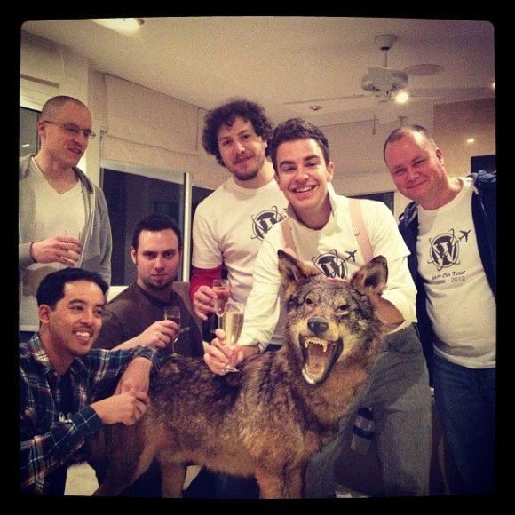 WP on Tour, the only one Wolf Pack :)