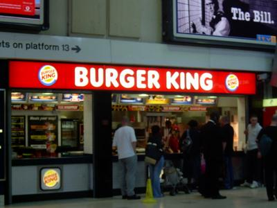 Burger King in the United Kingdom