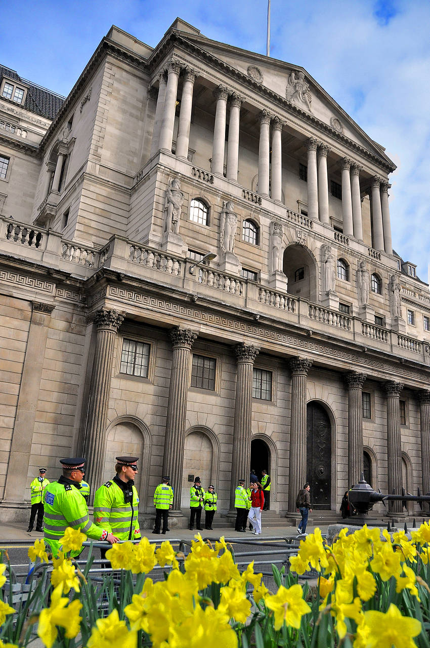 Bank of England Foto
