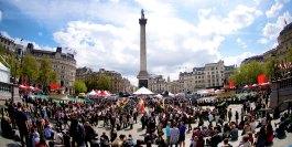 Image result for Trafalgar Square