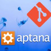 Aptana Studio and Git logos