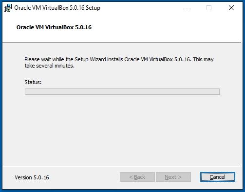 VirtualBox Oracle VM VirtualBox Installing