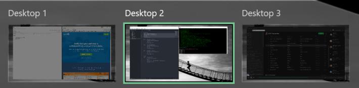 Marks Desktop Example