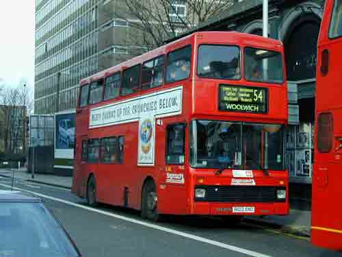 London Bus Route 54