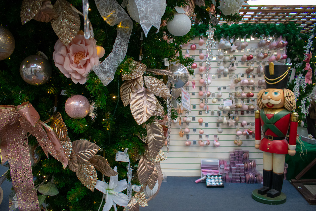 Crews Hill Nurseries at Christmas
