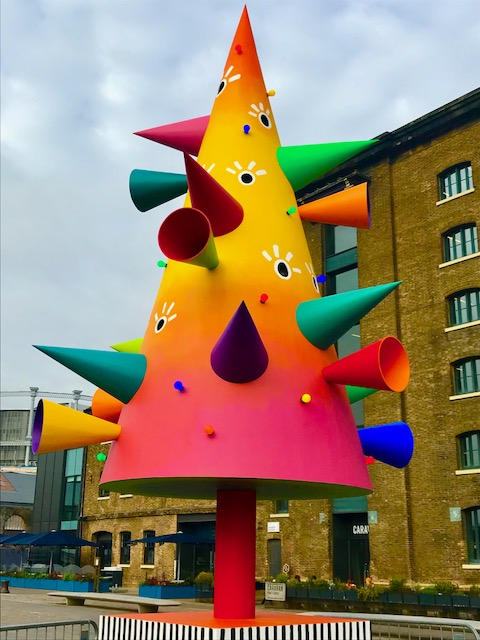 Central St Martins Christmas Tree London