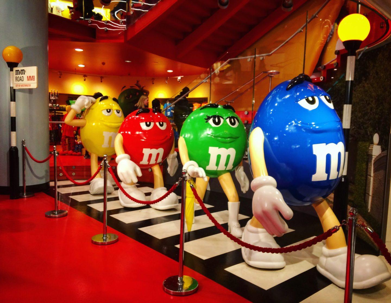 M&M World, London