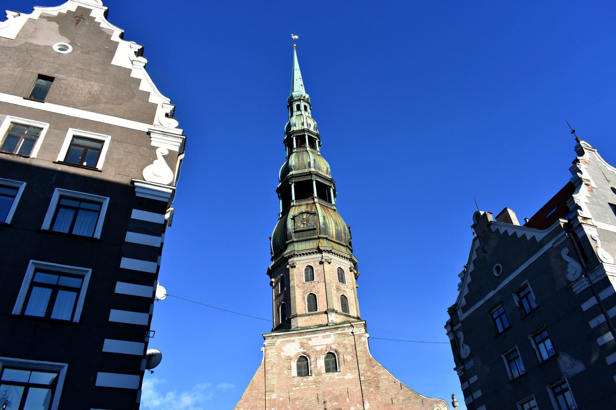 St Peters Church, Riga, Latvia