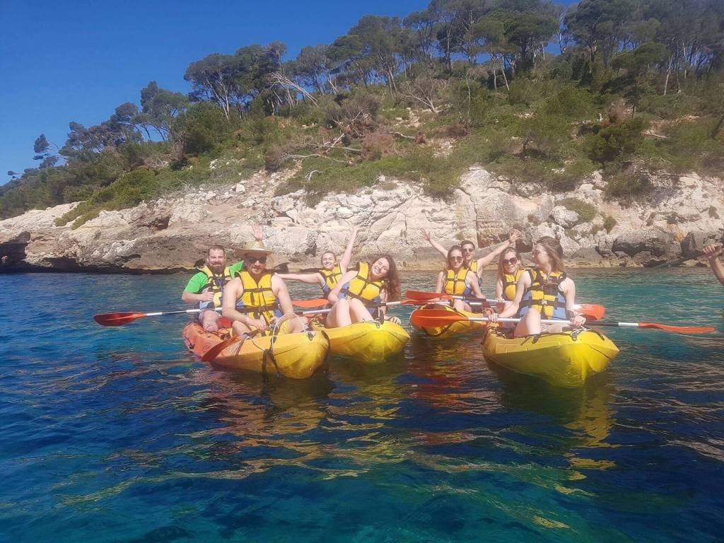 Menorca Spain, Kayaking