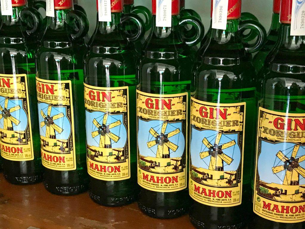 Menorca bars, Mahon Gin