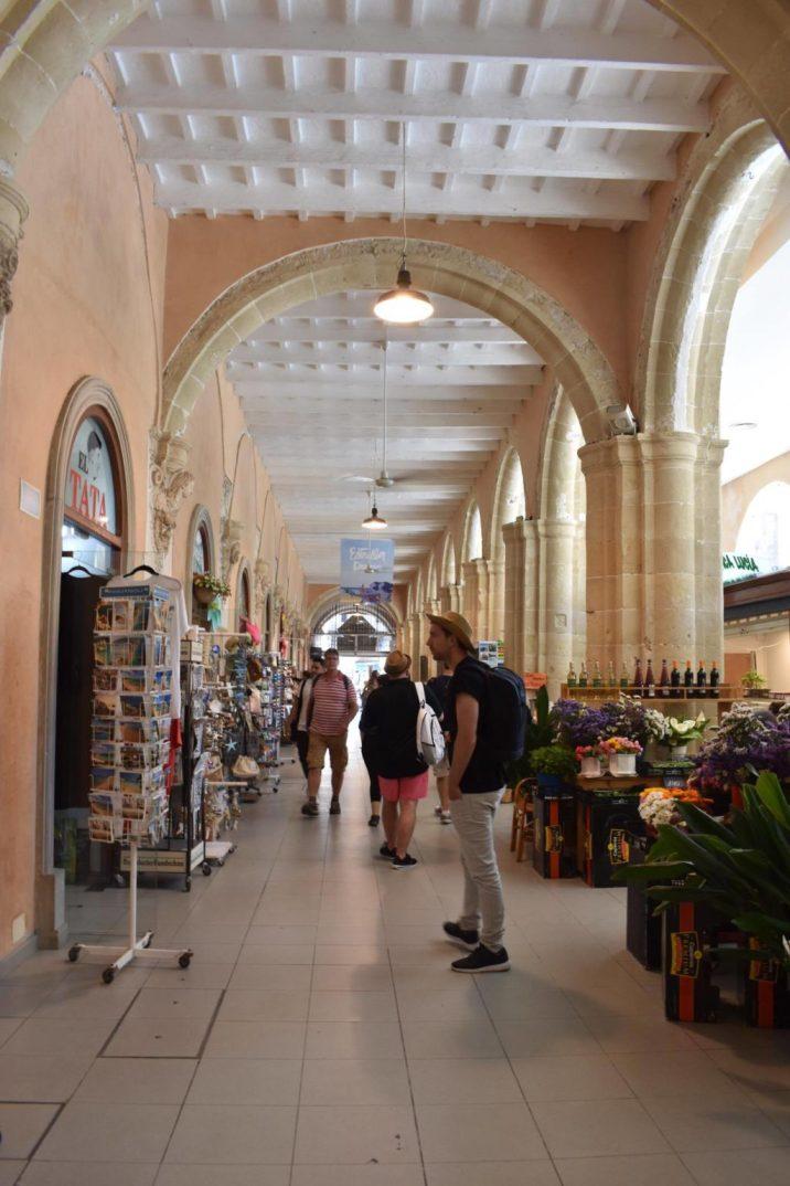 Menorca Spain, Mercat Claustre del Carme