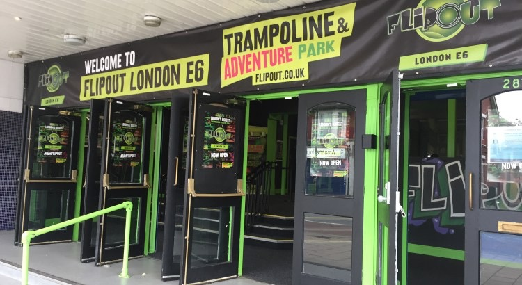 Flip Out London E6 | The East London Trampoline and Adventure Park!