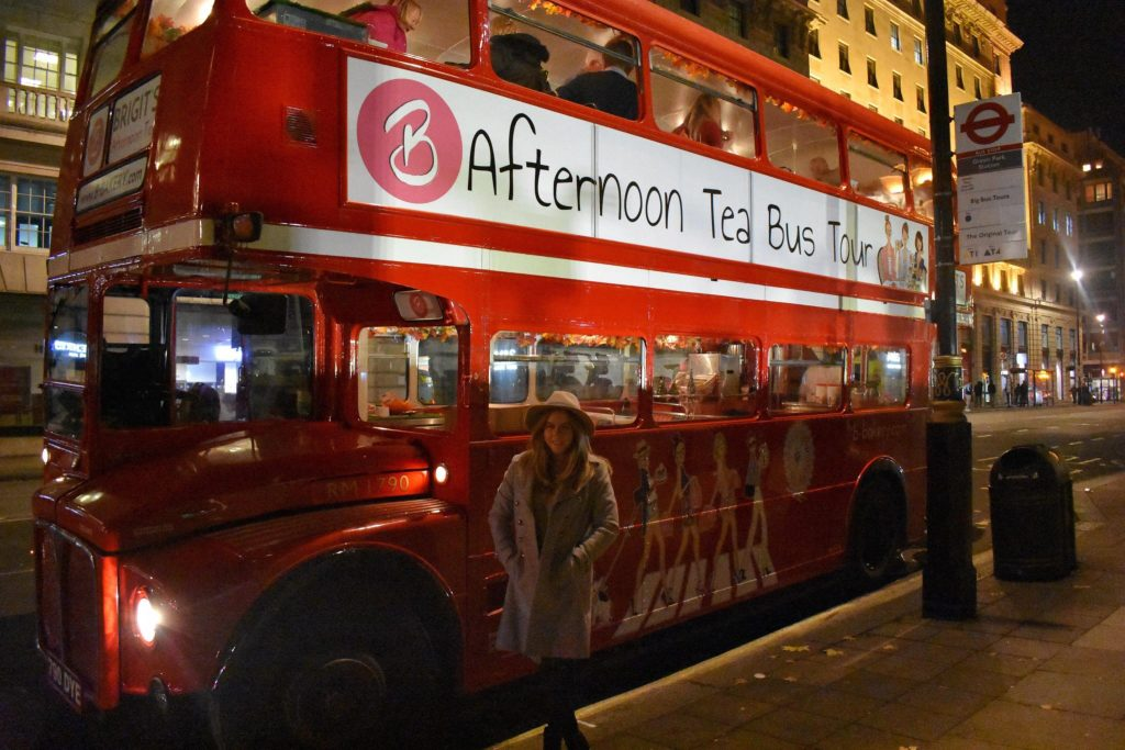BBakery Afternoon Tea on a Red London Bus