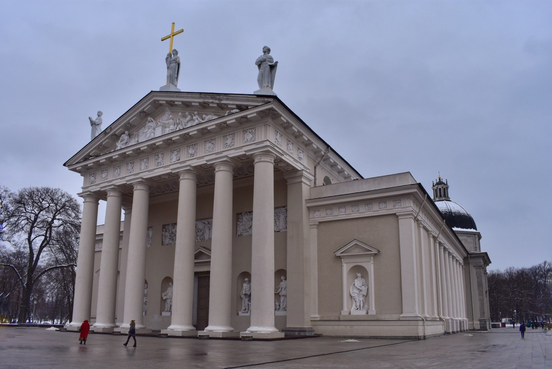 Vilnius Lithuania Cathedral