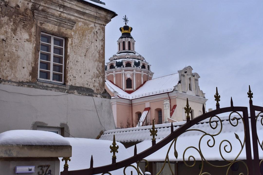 Vilnius Lithuania, Saint Casimir Jesuit's Church