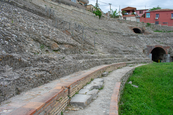 The Amphitheatre of Durres Albania