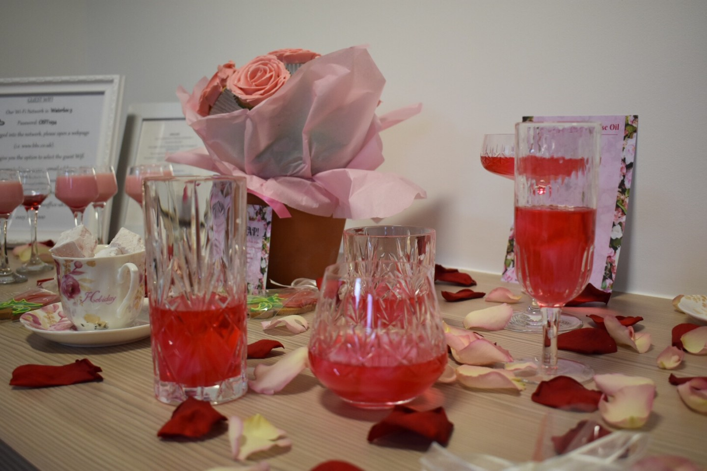 Rose Water Drinks