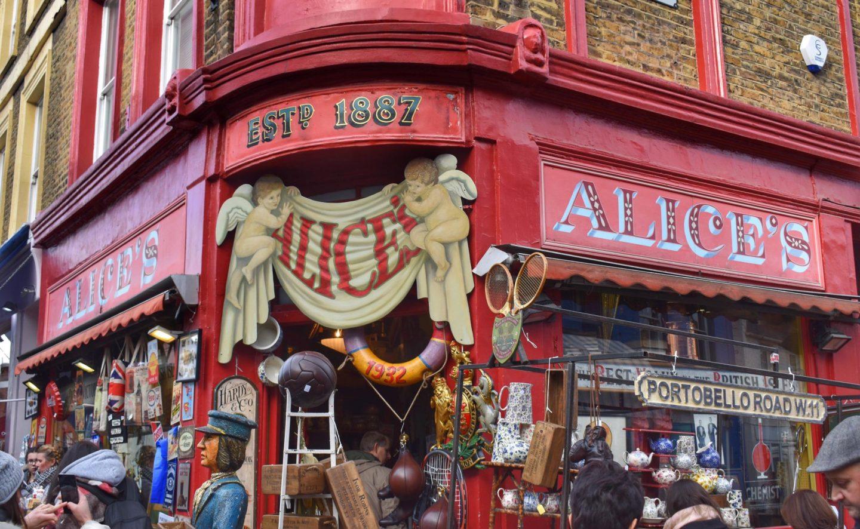 Alices Portobello Road Market London