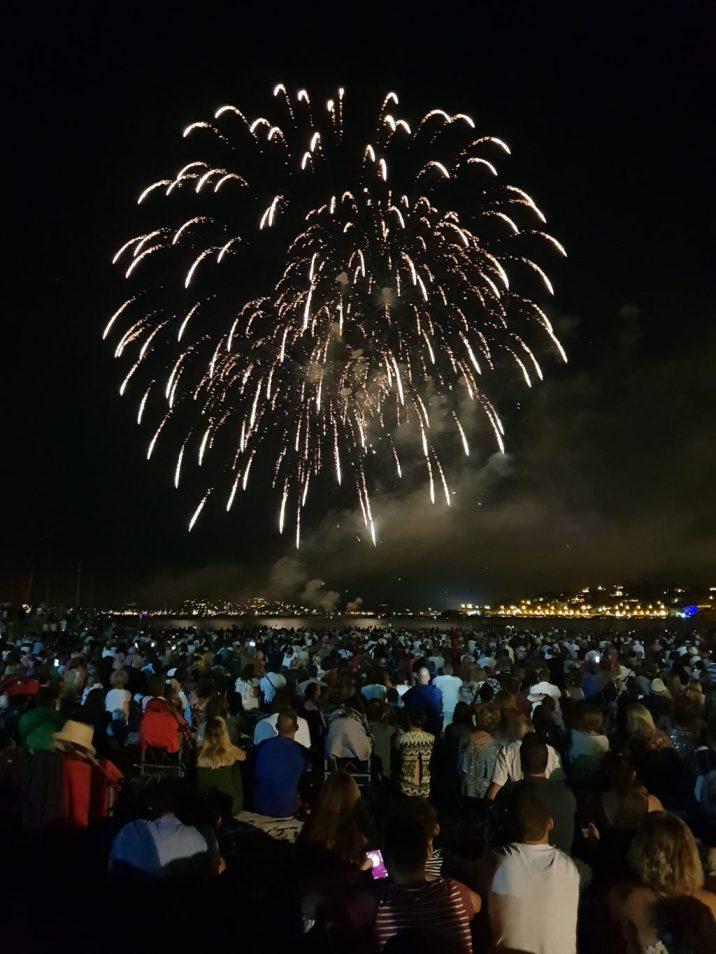 Sainte Maxime Fireworks, French Riviera