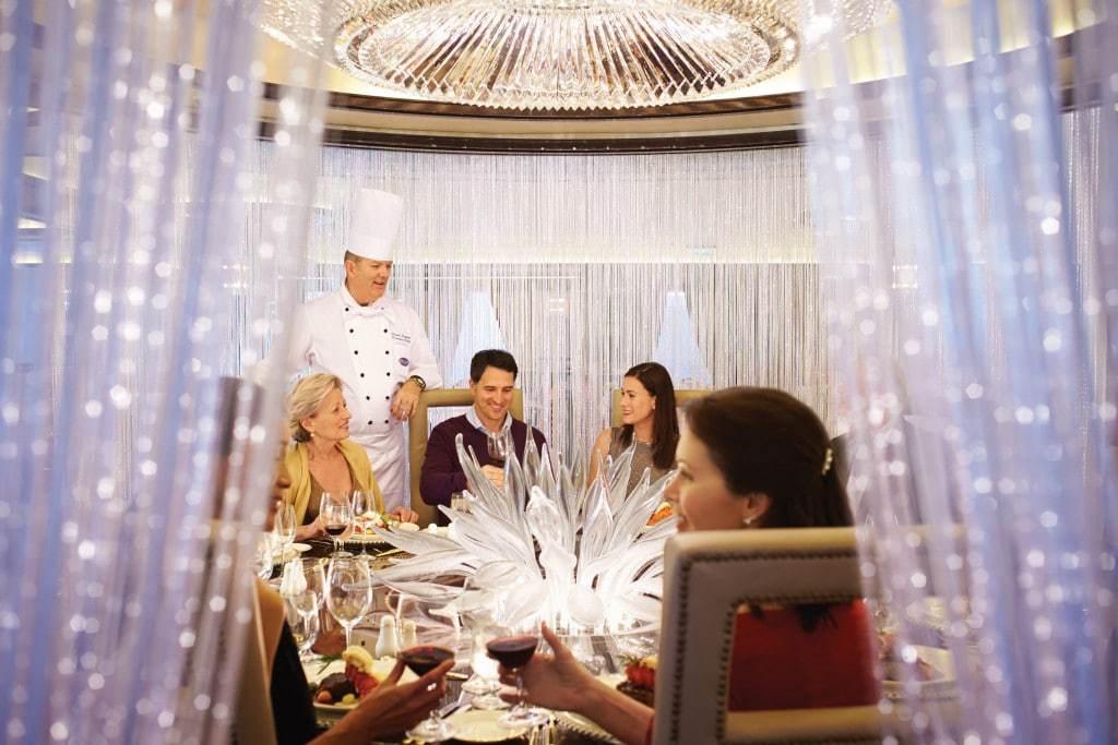 Cruise Ship Restaurants Crown Princess