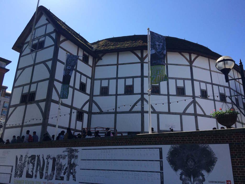 Globe Theatre London Itinerary