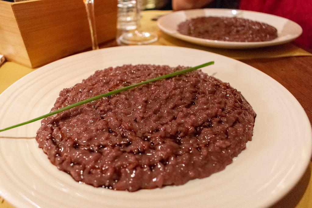 Verona restaurants - Monte Baldo Risotto