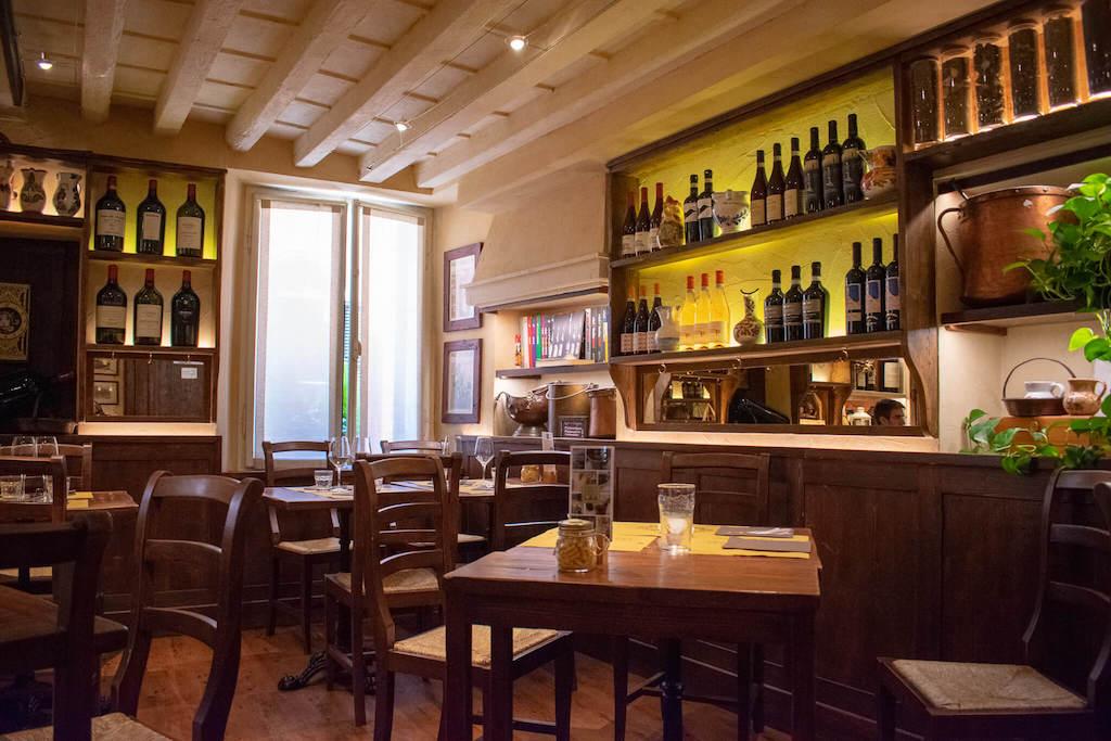 Best restaurants in Verona Italy - Osteria Caffè Monte Baldo