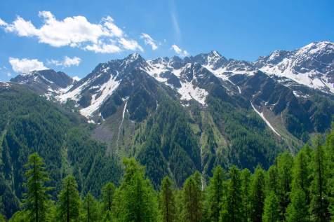 Trentino mountains view