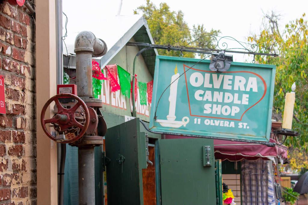 Areas of LA - Olvera Street